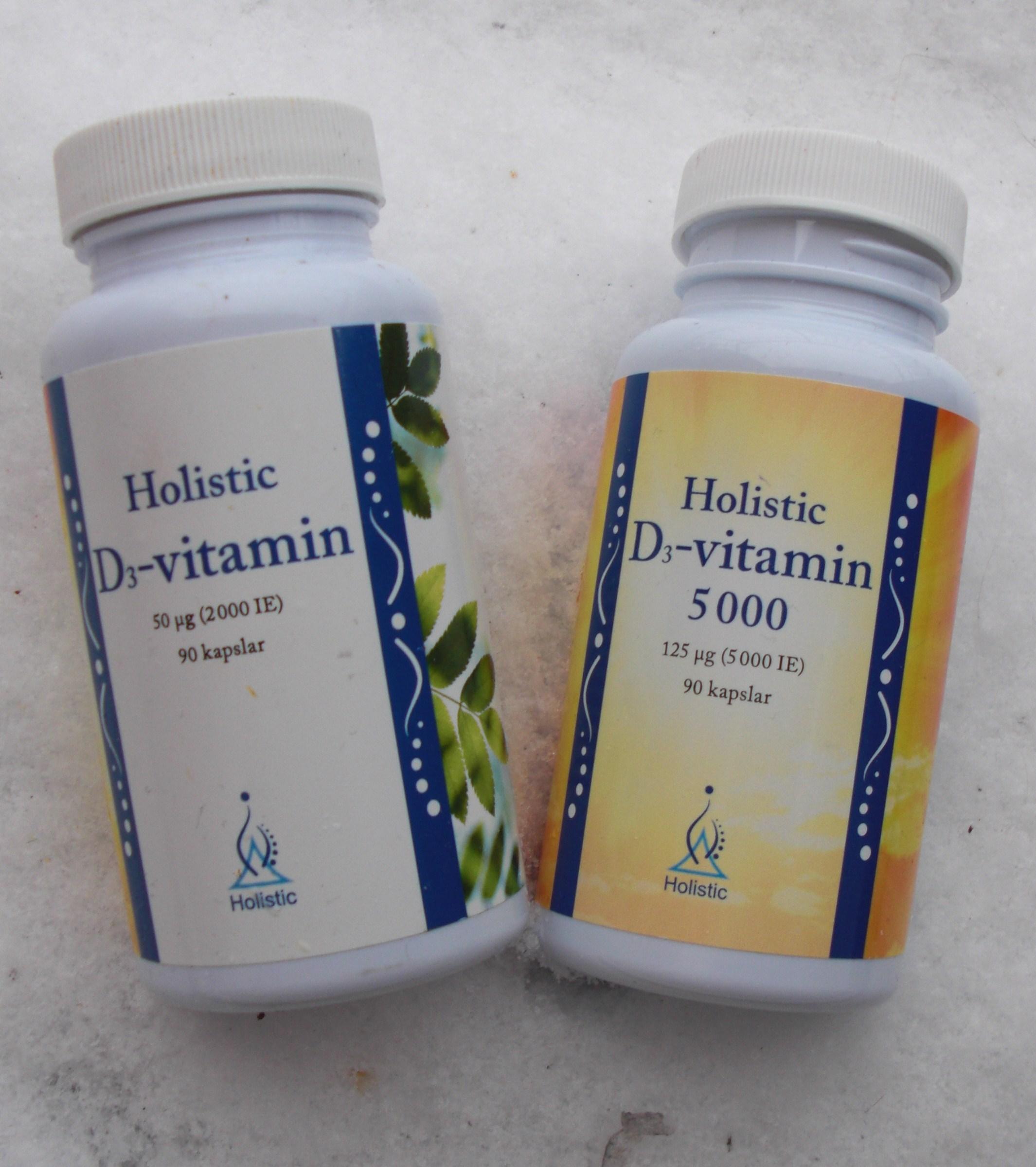 varför är d vitamin bra